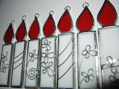 stained glass christmas ornaments - Google Search