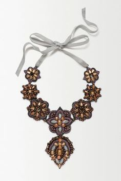 Paisley Tie-Back Necklace