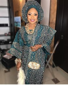 All Shades Of Beautiful Nigerian Brides Traditional Outfits Nigeria is very a very rich and interesting nation with its rich cultures Nigerian Wedding Dress, Nigerian Dress, African Wedding Attire, Nigerian Bride, African Attire, African Wear, Nigerian Weddings, African Weddings, African Traditional Wedding Dress