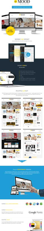 the mood WordPress theme Wordpress Theme, Ecommerce, Magazine, Mood, Magazines, E Commerce, Warehouse, Newspaper