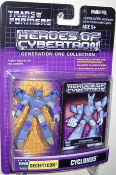 Hasbro Transformers heroes of cybertron pvc CYCLONUS new moc hoc scfaction figure for sale in online toy store to buy now