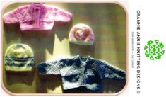 Baby's Jacket and Hat knitting pattern