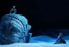 Les pêcheurs de perles from Teatro Filarmonico Verona. Production by Fabio Sparvoli. Sets by Giorgio Ricchelli.