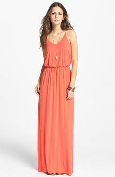 Could live in this maxi dress during the spring/summer! Elegant and comfy. $52.