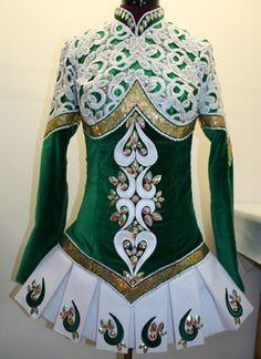 Irish Dance dress by Claire Shanley X1402c
