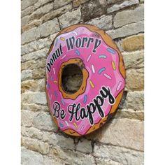 Donut Retro Sign