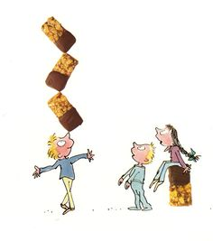 """""""Never too many, never too few, and always perfectly timed.""""  (Roald Dahl's view of treats.)  #genius"""