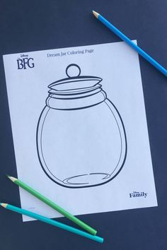 Encourage your little ones to draw their dreams inside this Dream Jar Coloring Page. The magic of Roald Dahl's The BFG scuddles off the page and onto the big screen July Bfg Activities, Roald Dahl Activities, Bfg Roald Dahl, Bfg Dream Jars, Bfg Movie, Movie Crafts, Kids Crafts, Holiday Club, Author Studies