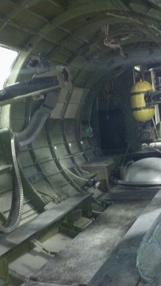 "Interior of the B-17 ""Flying Fortress"""