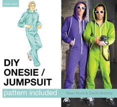 Picture of Adult Onesie / Jumpsuit Pattern