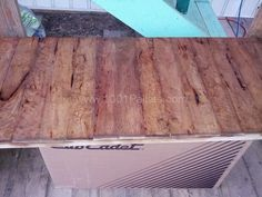 Back Deck Pallet Coffee Table