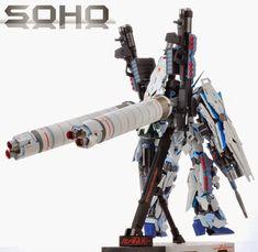 GUNDAM GUY: MG 1/100 Full Armor Unicorn Gundam 'ANA Colors' - Painted Build Unicorn Gundam, Gunpla Custom, Soho, Building, Nerd Stuff, Robots, Buildings, Robot, Small Home Offices
