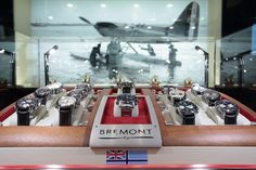 The Bremont store in Hong Kong designed & built by PopStore. Watch Display, Pop Up Stores, Building Design, Interior Design, Retail Design, Luxury, Hong Kong, Desktop, Google
