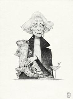 Sketchtober | 007 by BladMoran.deviantart.com on @DeviantArt