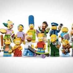 LEGO SIMPSONS MINIFIGURER