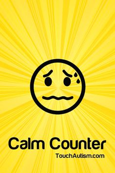 Calm Counter is a visual and audio tool to help people calm down when they are angry or anxious. The app includes a social story about anger, and audio/visual tools for calming down. #specialneeds