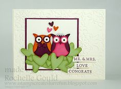 Stampin' Up! - Owl Builder Punch & Fundamental Phrases