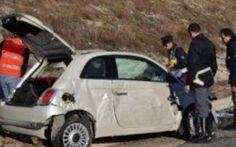 Catanzaro, operaio travolto in pieno da auto #catanzaro #operaio #investito #fiat500