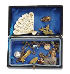 """Theriault's Antique Doll Auctions - French Antique Doll Jewelry for """"Rose"""" - circa 1885"""