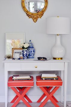 A+ console table styling.