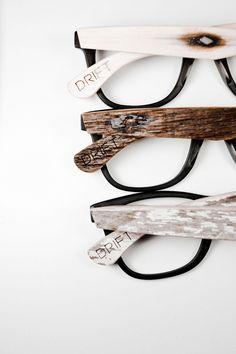 DRIFT 003. Glasses framework made of wood. Drewniane oprawki na okulary.