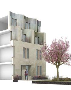Bay study, New College Oxford, Gort Scott Architects