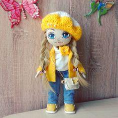 "213 Likes, 6 Comments - Дьяченко Наталья (@dyachenkonatalya9) on Instagram: ""Куколка не продается. Сделана на заказ.  #dolls #doll #handmadedolls #handmade #cute #artdoll…"""