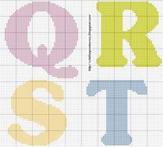 Alfabeto Q - T letras