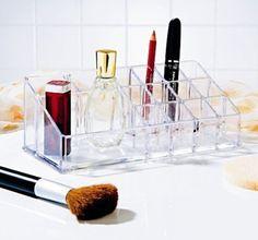 Make up Kosmetik Organizer Kosmetikbox Aufbewahrung 15 Fächer: Amazon.de: Küche & Haushalt