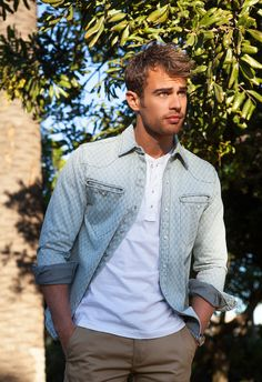 Theo James May Actually Be A Mythological God. Fun read, great pictures :3