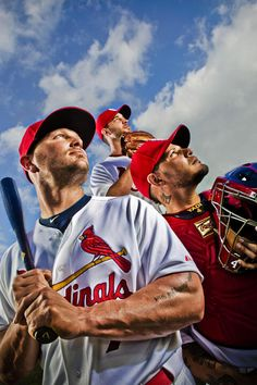 Chris Lee's cover photograph for the Post Dispatch's 2013 Cardinals preview section
