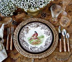 Spode Woodland Pheasant (Photo by Laurey W. Glenn via Southern Living)
