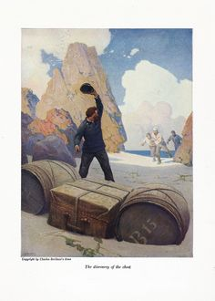 Mysterious Island by Jules Verne. My favorite edition is illustrated by N.C. Wyeth.