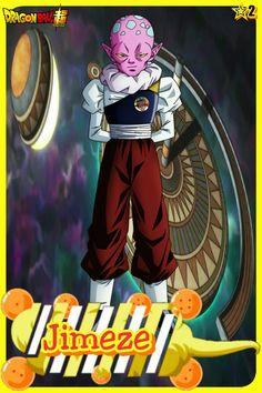 Jimeze- Team Universe 2. Dragon ball super