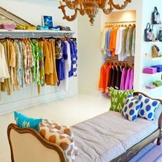 How to turn your closet into a boutique