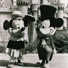 mickey & minnie 1961