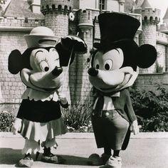 Vintage Mickey and Minnie!