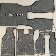 I'm giving you the number of TOSBIK vest from the front. Baby Knitting Patterns, Hand Knitting, Baby Vest, Baby Cardigan, Diy Crafts Knitting, Knitting Projects, Knit Baby Dress, Moda Emo, Hello Ladies