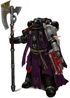 Blood Angels Battle-Brother seconded to the Deathwatch