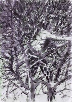 Original People Drawing by Wojtek Herman Drawing People, Figurative Art, Buy Art, Paper Art, Saatchi Art, Original Art, White Branches, Ink, Black Man
