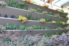 VWALL Vertical Planter Boxes  outdoor planters