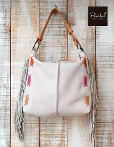 Boho leather bag Tribal handbag with fringes Hippie bag with Hobo Purses, Hobo Handbags, Brown Leather Handbags, Leather Purses, Leather Bags, Diaper Bag, Fringe Bags, Fringe Purse, Hippie Bags