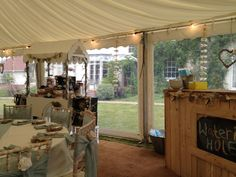 Universal Marquee's create the perfect wedding venue in your back garden Your Perfect, Back Gardens, Summer 2015, Perfect Wedding, Wedding Venues, Weddings, Create, Furniture, Home Decor