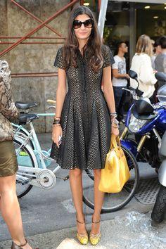 Milan Fashion Week Street Style: Giovanna Battaglia