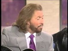 """Bee Gees live on talk show:  'How Deep Is Your Love"""""""