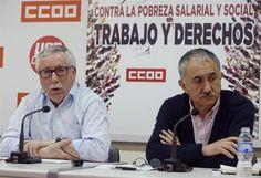 Los sindicatos convocan movilizaciones por la subida salarial y de las pensiones