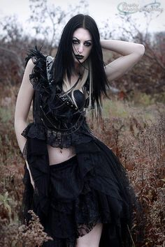 Model: Lor Nyctophilia Photo: Firefly Photographics Welcome to Gothic and Amazing |www.gothicandamazing.org