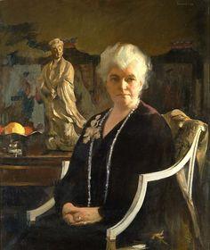 edmund c tarbell oil paintings   Mrs. Edmund C. Tarbell by Edmund C. Tarbell / American Art