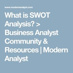 Example Of A Swot Analysis For Home Business  Swot Analysis And