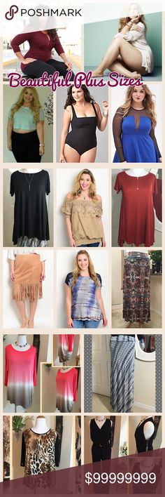 💕Poshmark has the Hottest Curvy Women on Earth!💕 🌺My pleasure to bring you the latest in plus size fashion! All New Arrivals I bring to my closet include plus sizes, for every beautiful woman out there!🌺 LDB Other